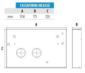 KIT CASSAFORMA UNICO INCASSOB0775