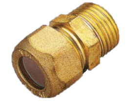 NIPPLE O-TEFLON M.D10x1/2R1210010