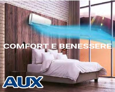 condizionatori Aux - comfort e benessere