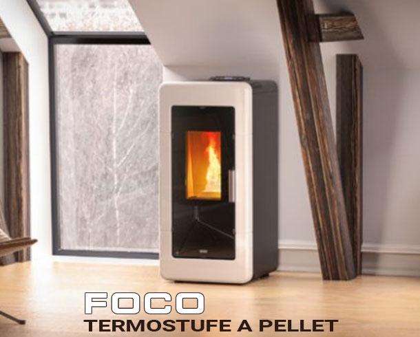 termostufe a pellet della foco